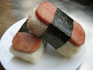 Spam Musubi. Photo Credit: Asianweek.com
